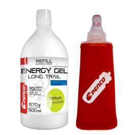 PENCO Energetický gel  LONG TRAIL REFILL  Citron + Penco Soft Flask 150ml